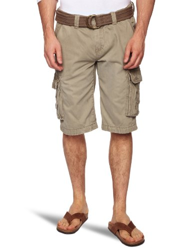 Kaporal Yoops Men's Shorts Khaki W28 IN