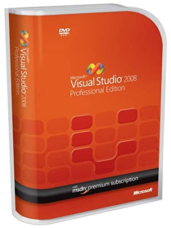 Microsoft Visual Studio 2008 Professional with MSDN Premium [Old Version]