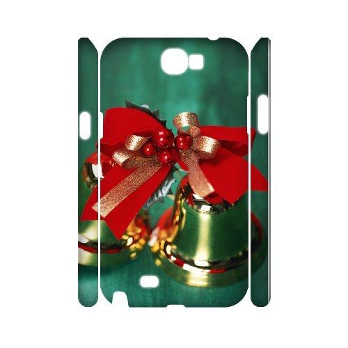 Samsung Galaxy Note 2 N7100 Christmas 3D Art Print Design Phone Back Case Diy Hard Shell Protection Aq039373