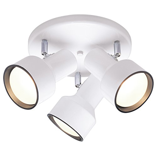 Angelo Brothers 66326 Three-Light Multi-Directional Ceiling Fixture