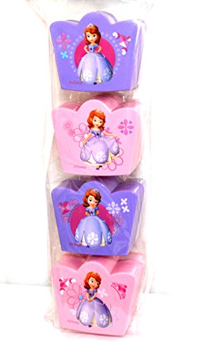 Disney's Sofia the First Easter Treat Containers (4 Pack) (Pink/purple) by Disney