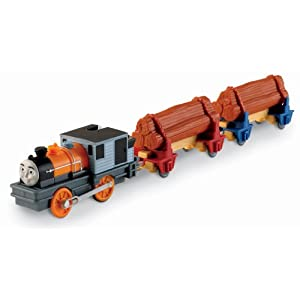 THOMAS TRACKMASTER DASH THE LOGGING LOCO
