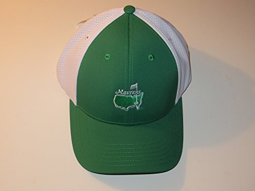 MASTERS Golf Tournament GREEN & WHITE PERFORMANCE HAT New! Trucker Style 2016 Masters (Masters Trucker Hat compare prices)