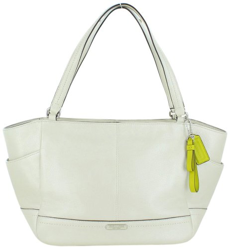 Coach   Coach Park Pearl Leather Carrie Tote - Style 23284