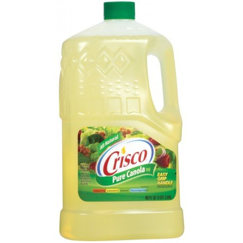 crisco pure canola oil 96 ounce food beverages tobacco food items cooking baking ingredients. Black Bedroom Furniture Sets. Home Design Ideas