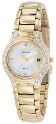 Citizen Women's EW0972-55D Silhouette Diamond Eco Drive Watch