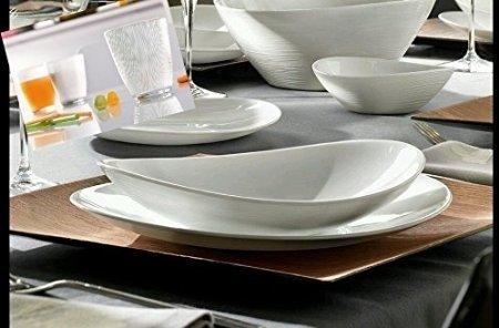 Eme servizio posate 24 pezzi made in italy completo 6 - Servizio piatti da tavola in arcopal pz 18 prometeo ...