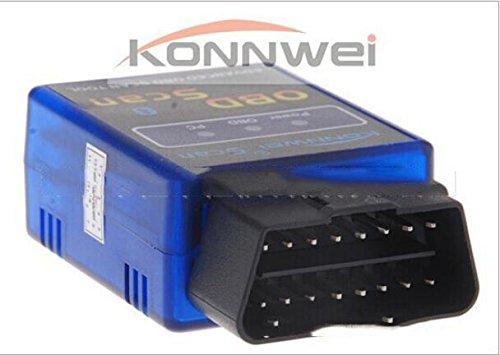 ordinateur de bord diagnostique scanner d tecteur faute en konnwei b3 elm327 bluetooth. Black Bedroom Furniture Sets. Home Design Ideas