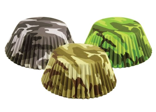 Fox Run Brands 7134 75 Count Camouflage Bake Cups