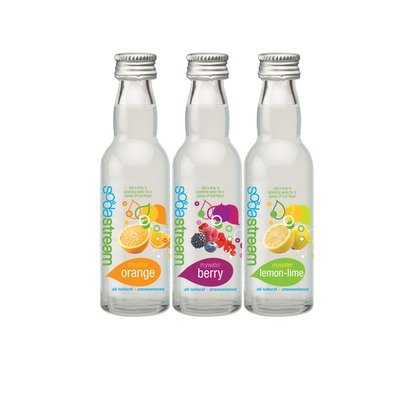 SodaStream MyWater Flavor Essence 3 Pack Raspberry