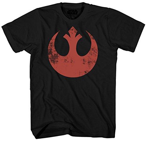 Star Wars Star Wars Old Rebel Mens Tee Mad Engine Xl