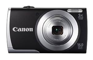 Canon PowerShot A2500 EU18 Fotocamera Digitale, Colore Nero