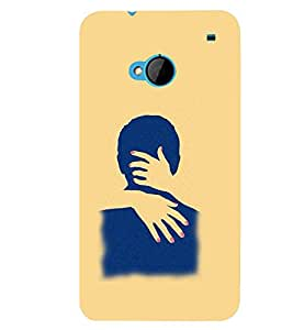 PRINTSWAG COUPLE HUG Designer Back Cover Case for HTC ONE M7