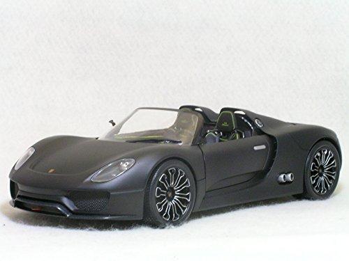 minichamps 1 18 porsche 918 spyder matt black 2010. Black Bedroom Furniture Sets. Home Design Ideas