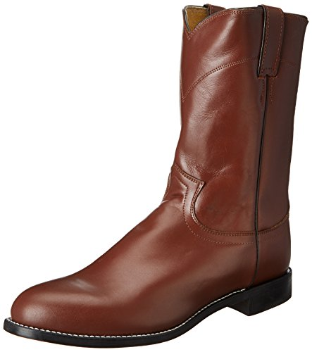 Justin Boots Men's Western Roper Boot,Tan Kiddie,13 D US