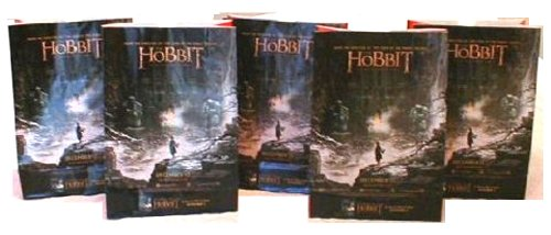 The Hobbit: Desolation of Smaug Theater Exclusive Promotional 130 Oz Popcorn Bag Set (10) (Hobbit Popcorn compare prices)