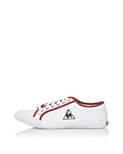 Le Coq Sportif Zapatillas Lona Deauville Tricolore Blanco / Rojo EU 42