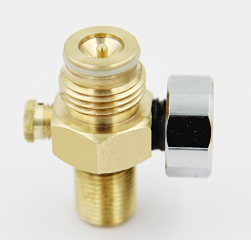 Taousa 70237 Paintball CO2 Tank Pin Valve W/2000psi Gauge W/thread Cover (Ball Valve Pin compare prices)