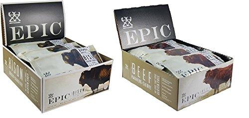 Epic Bison Bacon + Beef Habanero - Box Of 12