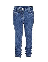Tickles Girls Jeans (TIGJN000008B_5-6Y_Mid Wash)