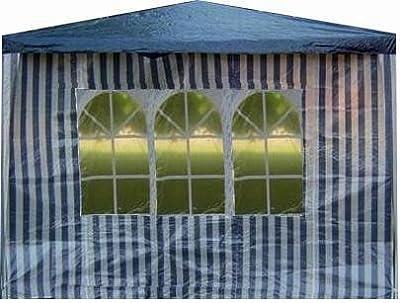Seitenteile mit Fenster für Pavillon Pavillion in Blau 2 Stück von D&S Vertriebs GmbH bei Gartenmöbel von Du und Dein Garten