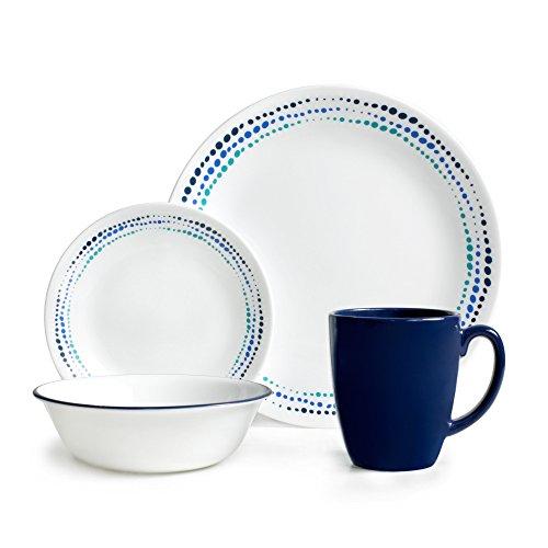 corelle-1119403-livingware-service-de-table-decor-ocean-pour-4-personnes-verre-bleu-lot-de-16