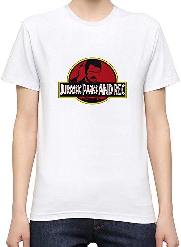 Jurassic Parks & Rec Womens T-shirt X-Large
