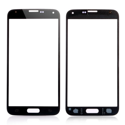Genuine New Lcd Front Screen Outer Glass Lens Replacement For Samsung Galaxy S5 (Black)