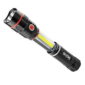 Nebo - 250 Lumens SLYDE LED Flashlight 190 Lumens Work Light (4 AAA Batteries Included)