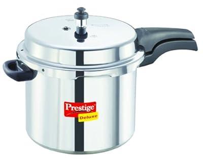 Prestige Deluxe Aluminum Pressure Cooker, 7-1/2-Liter by Prestige