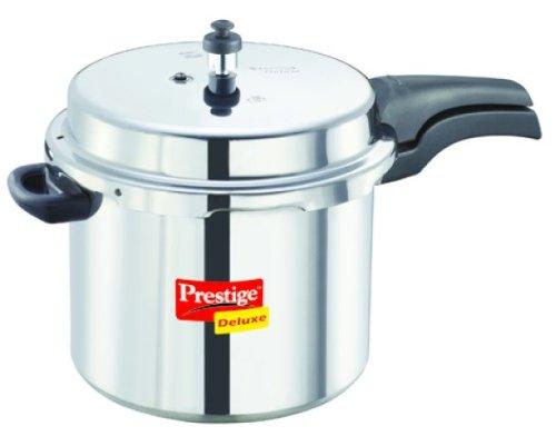 Prestige PRDAL7.5 Deluxe Aluminum Pressure Cooker, 7-1/2-Liter