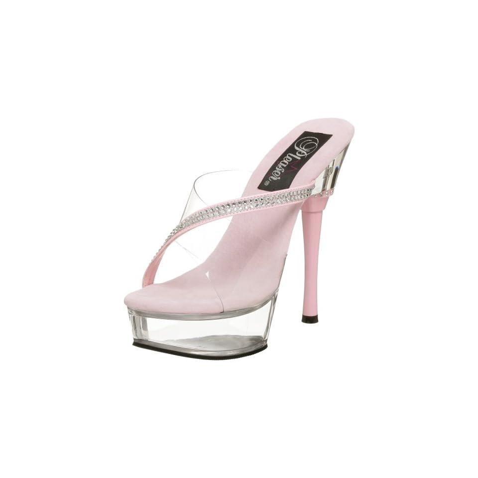 6c77a55cbdd4d Pleaser Womens Allure 603 Sandal on PopScreen