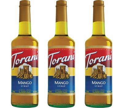 Torani Mango Syrup 750Ml (3 Pack)