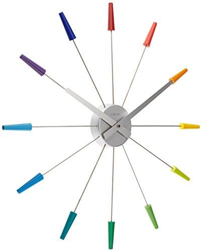 nextime-multi-coloured-plug-inn-clock-2610di