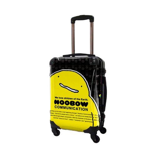 ぬ~ぼ~スーツケース/アートスーツケース/フレーム4輪/TSAロック/機内持込可能/キャラート/ほんわか 黄色 ぬーぼー ヌーボー エアインチョコ 森永製菓/CRA01-J00107