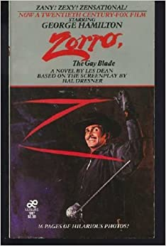 zorro the gay blade a novel