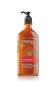 Bath and Body Works Aromatherapy Orange Ginger Energy Body Lotion 6.5 fl oz