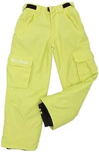 Billabong Boy's Fringe Snow Pants - Lime, Age 12