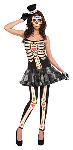 Morris Costumes Women's DAY OF THE DEAD FEMALE ADULT, One size