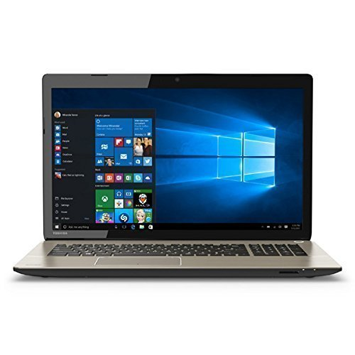 Gaming Toshiba Satellite S70 17.3″ Ultra HD Display Laptop Intel Core i7-4720HQ 16GB Ram 1TB Hybrid hard disk drive 2GB GDDR5 AMD Radeon R9 M265X graphics Blu-ray DVD Bluetooth 4.0 Windows 10