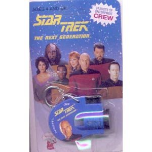 Star Trek The next Generation Picard, Data Key Chain Viewer