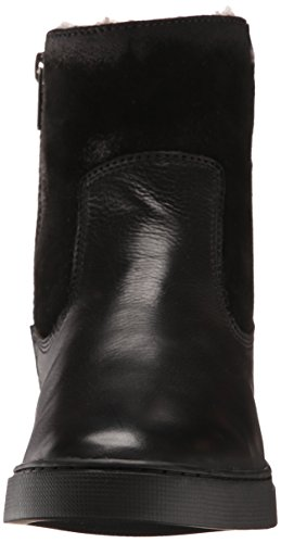 FRYE Women's Gemma Short Shearlingsvlos Winter Boot,  Black, 8.5 M US