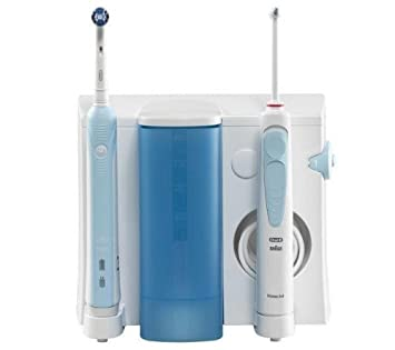 Comparer ORAL B PROFESSIONAL CARE WATERJET 500 BLEU