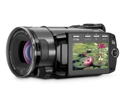 Canon LEGRIA HF S100 High Definition Digital Camcorder - Black (10x Optical Zoom, 2.7 Inch Widescreen Colour LCD)