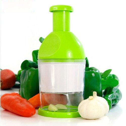 XCSOURCE® Manual Detachable Professional Handy Press Stainless Steel Food Chopper With Smart Base HS81