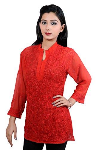 Wonder Care - Camicia - Maniche corte  - 45 DEN -  donna Full-Red Petto: Corpo 68-Garment 72