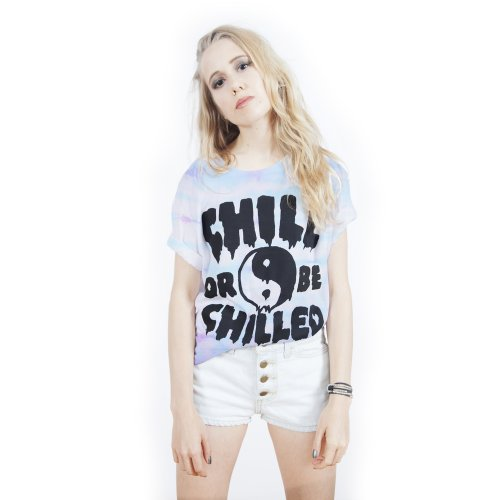 Killer Condo Chill Or Be Chilled Pastel Unisex Tie Dye T-Shirt Large (Grunge Tie Dye compare prices)