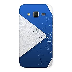 Blue Paint Work Job Back Case Cover for Galaxy Core Prime