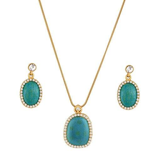 sempre-londres-plaque-or-jaune-18-k-deux-tons-vert-sensation-chaine-pendentif-en-cristal-de-diamants