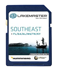 Lakemaster 6000231 Digital GPS Electronic Fishing Chart - Southeast States - Florida,... by LAKEMASTER